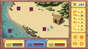"User Interface for the edutainment title ""Sarasota Bay Rancho""."